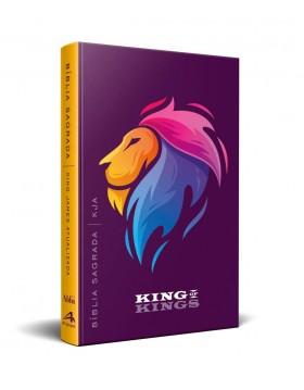 Bíblia King James Atualizada - capa dura slim - King of kings