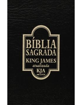 Bíblia King James Atualizada - 400 anos - capa preta