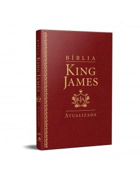Bíblia King James Atualizada - slim - luxo vinho