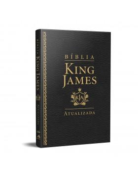 Bíblia King James Atualizada - slim - luxo preta