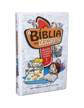 Bíblia das Descobertas - capa dura - azul