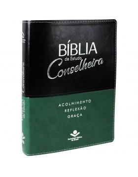 Bíblia Estudo Conselheira - NAA - capa luxo