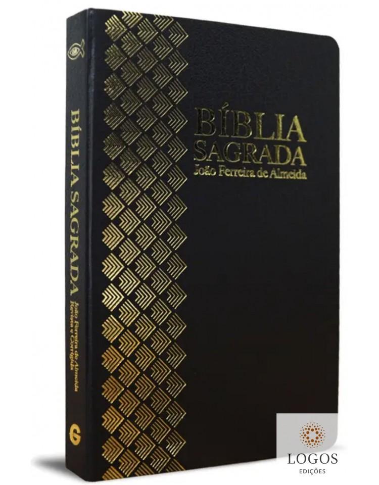 Bíblia Sagrada - ARC - capa semi-flexível - Preto