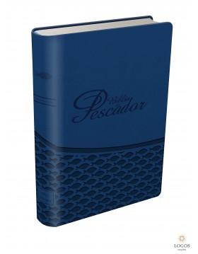 Bíblia do Pescador - capa azul