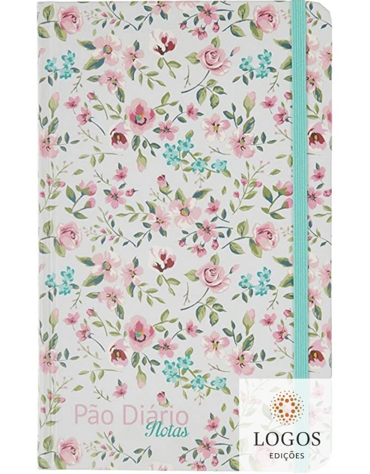 Pão diário - caderno de notas - Floral verde. 9781680434705