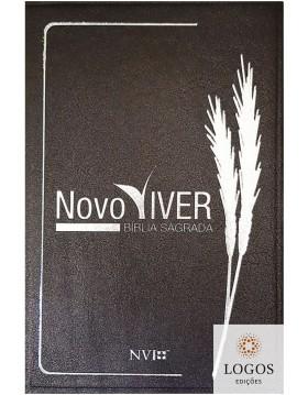 Bíblia de Estudo Novo Viver - capa grafite. 7897185852615