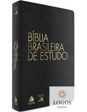 Bíblia Brasileira de Estudo - capa preta. 9788577421138