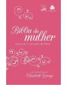 Bíblia da mulher segundo o coração de Deus - capa pink-branca. 9788577421800
