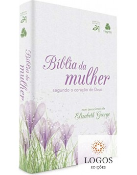Bíblia da mulher segundo o coração de Deus - capa tulipa rosa. 9788577421824