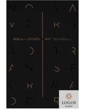 Bíblia de Estudo NVT - capa preta. 9788543302966