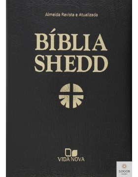 Bíblia Shedd - Covertex preta. 9798527500394