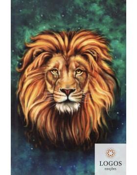 Bíblia Sagrada - ACF - capa dura - Leão Aslam. 9788573803839