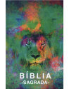 Bíblia Sagrada - ACF - capa dura - Leão aquarela. 9788573803839