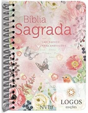 Bíblia Anote - NVI - letra grande - capa espiral clássica virtuosa. 9786556550381