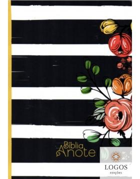 Bíblia Anote - NVI - letra grande - capa dura listrada. 7897185854206