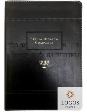 Bíblia judaica completa - capa luxo preta. 9788000003788. David H. Stern