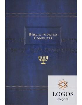 Bíblia judaica completa - capa luxo azul. 9788000003801. David H. Stern