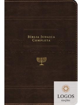 Bíblia judaica completa - capa luxo castanha. 9788000003795. David H. Stern