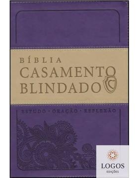 Bíblia Casamento Blindado - A21 - roxa. 9788578606589. Renato e Cristiane Cardoso