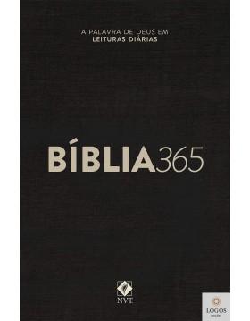 Bíblia 365 NVT - capa clássica.  9786586027372