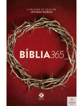 Bíblia 365 NVT - capa coroa. 9786586027693