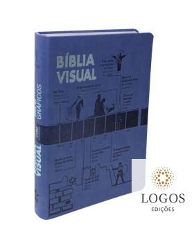 Bíblia Visual com Infográficos - edição de luxo. 7899938412381