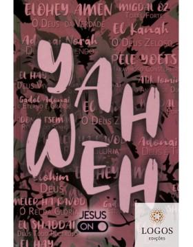 Bíblia Sagrada - NAA - letra grande - capa dura - YAHWEH - rosa. 40050