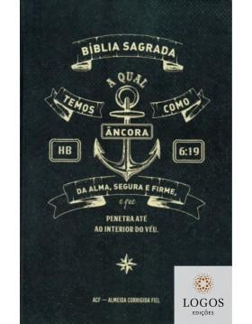 Bíblia Sagrada - ACF - capa dura - slim - Âncora Hebreus. 9786588364246