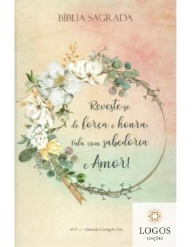 Bíblia Sagrada - ACF - capa dura - slim - Jardim Provérbios. 9786588364260