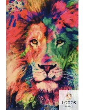 Bíblia Sagrada - ACF - capa dura - slim - Leão cores. 9786588364208