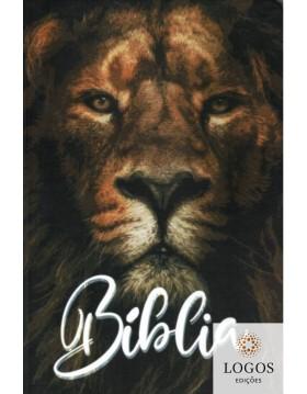 Bíblia Sagrada - ACF - capa dura - slim - Leão original. 9786588364215