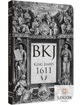 Bíblia King James 1611 - capa ultra-fina - Lettering Bible - Retrô. 9786586996166