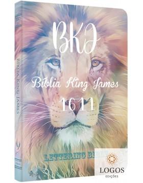Bíblia King James 1611 - capa ultra-fina - Lettering Bible - Tie Dye. 9786586996180