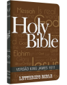 Bíblia King James 1611 - capa ultra-fina - Lettering Bible - Holy Bible. 9786586996203