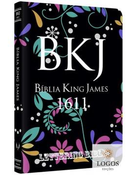 Bíblia King James 1611 - capa ultra-fina - Lettering Bible - Floral. 9786596996197