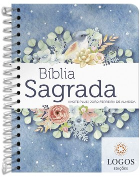 Bíblia Anote Plus - ARC - letra grande - capa espiral - pontos de luz. 9786556550626
