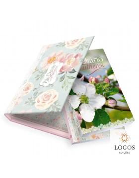 Pão diário mulheres - sejam cheias de alegria + caderno de oração + caixa para oferta. 9781646410101