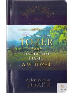 Dia a dia com Tozer - devocional diário - capa de luxo almofadada. 9781680431506