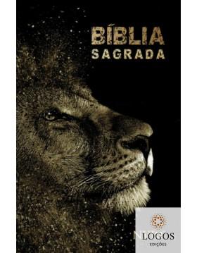 Bíblia Sagrada - NVI - capa dura slim - Leão dourado. 9786588364161