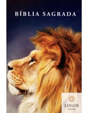 Bíblia Sagrada - NVI - capa dura slim - Leão perfil. 9786588364154