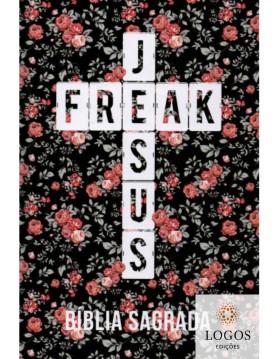 Bíblia Jesus Freak - NVI - capa dura - Floral. 9788591726721
