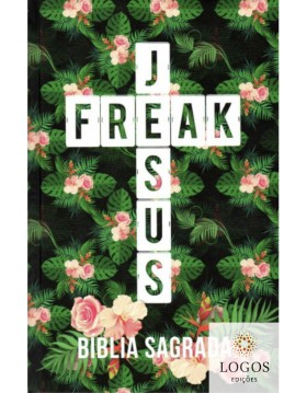 Bíblia Jesus Freak - NVI - capa dura - Tropical. 9788591726721