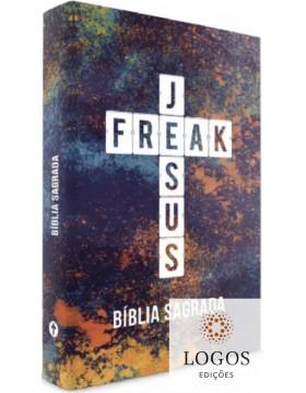 Bíblia Jesus Freak - NVI - capa dura - Color. 9788591726721