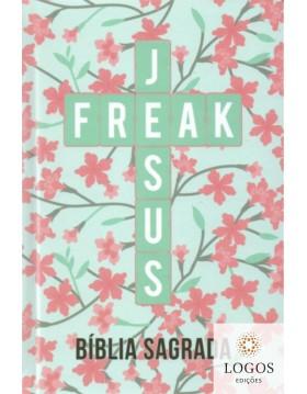 Bíblia Jesus Freak - NVI - capa dura - Ypê rosa. 9788591726721