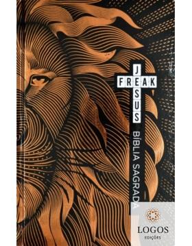 Bíblia Jesus Freak - NVI - capa dura - Leão bronze. 9788591726721