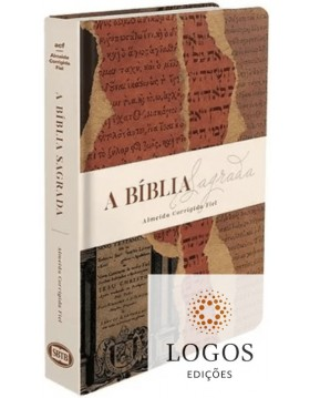 Bíblia Sagrada - REMC - ACF - capa dura - Manuscritos. 7898572203218
