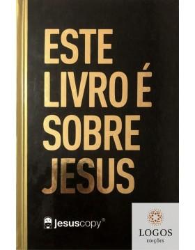 Bíblia JesusCopy - NAA - letra grande - capa dura - Este livro é sobre Jesus. 7899938410639