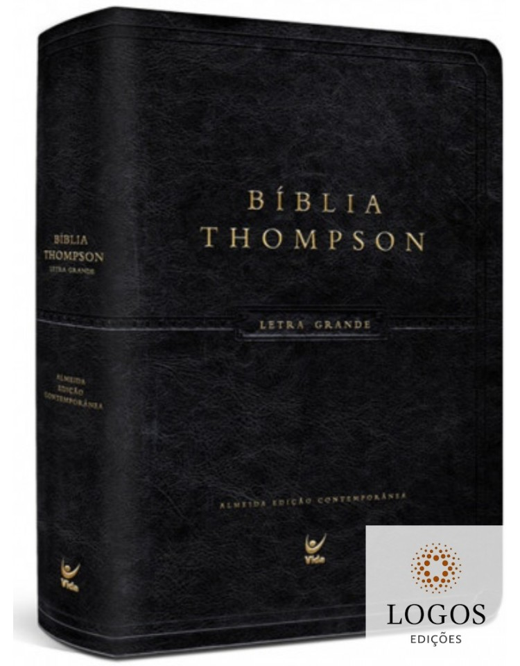 Bíblia Thompson - AEC - preta. 9788000003634