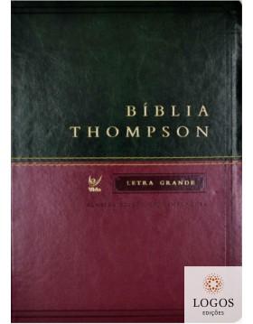 Bíblia Thompson - AEC - preta  e vinho. 9788000003337
