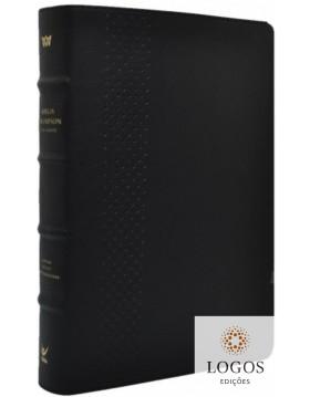 Bíblia Thompson - AEC - letra grande - edição de colecionador - capa luxo preta. 9788000004556
